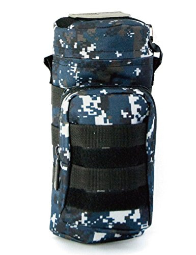 [IMPACK] RT1521 Travel Water Bottle Pouch Holder Tactical Kettle Gear Molle Pack Carry Bag for Outdoor Activities