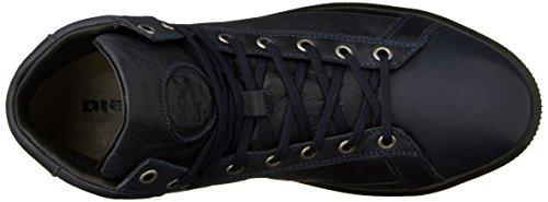 Diesel Mens Dineckt S-naptik Mid Fashion Sneaker Blu Iris / Nero