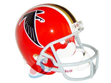 (Riddell Atlanta Falcons (1966-69) Full Size Deluxe Replica NFL Throwback Helmet)