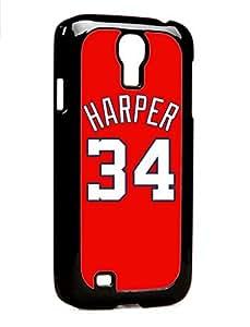 Bryce Harper Washington Nationals Samsung For SamSung Galaxy S4 Phone Case Cover Case