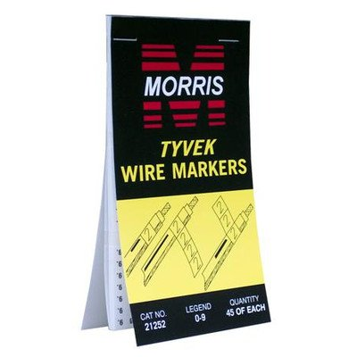 tyvek-wire-marker-booklets-with-0-9-standard-marking