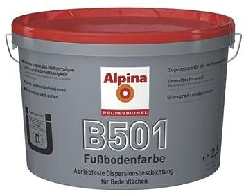 Fußbodenfarbe ~ Alpina professional 2 5 l. b501 fußbodenfarbe