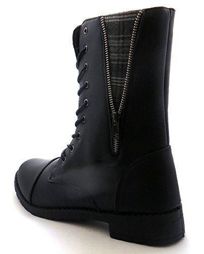 Women's Combat Lace Up Boots