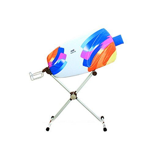 dazzl 360˚ Rotation Sided Ironing Board Patent Pending With Iron Rest-Watercolor by Dazzl 360