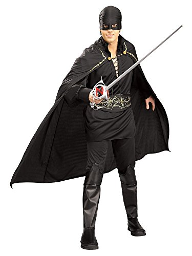 Zorro Complete Adult Costume, One Size ()