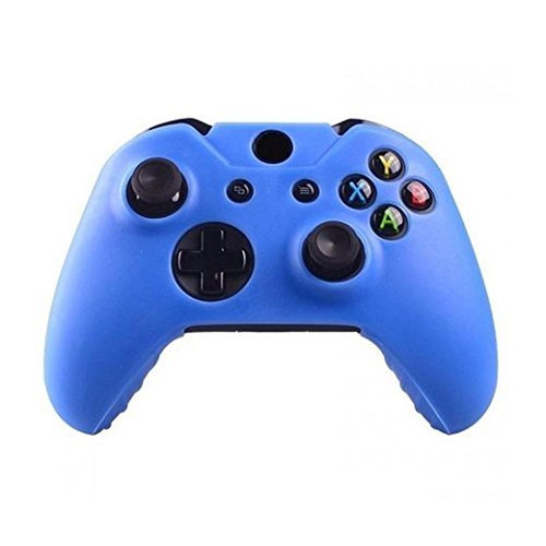Creazy hule de silicona Carcasa protectora Gel para Xbox One driver Inalámbrico, For Xbox One Wireless Controller, Azul