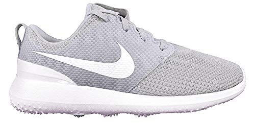 Nike Men's Roshe G Golf Shoe Pure Platinum/White Size 11 M US (Nike Roshe Grey Shoes)