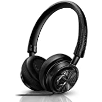 Philips M2L/27 Fidelio On-Ear 3.5mm Wired Headphones (Black)