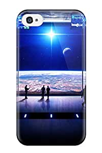 1010060K95682011 Tpu Case For Iphone 4/4s With Observation Deck