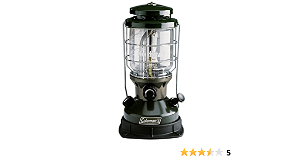 Coleman 2000-750E Northstar - Lámpara de gasolina, color verde/negro