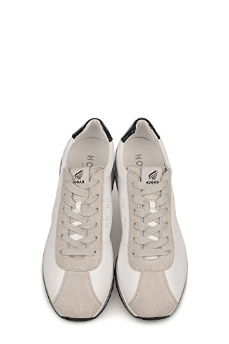 Hogan Sneakers Uomo HXM3210Y140GCP692T Pelle Bianco/Grigio