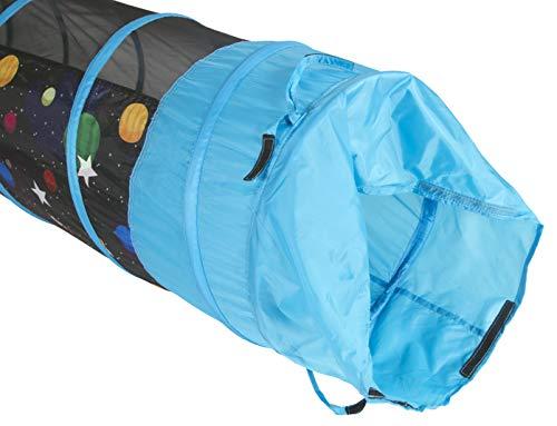 Pacific Play Tents Kids Galaxy 6 Foot Crawl Tunnel w/Glow in the Dark Stars