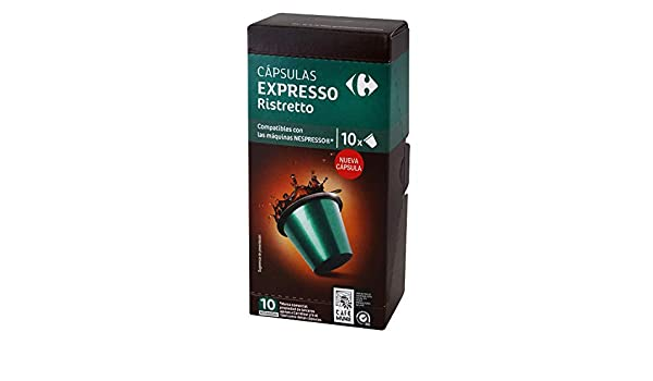 1 PACK Carrefour Ristretto Coffee 10 Capsules per Package ...