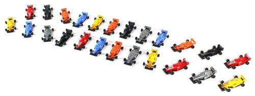 Top Racing Formula F1 One Cars 24 Piece Toy Vehicle Play Set Comes