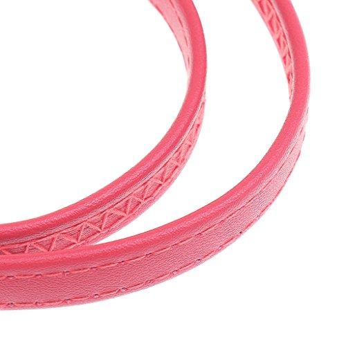Sangle Poignée Femme Sac Reglable Synthétique Sharplace De Rose à Main Boucle Cuir Bandouliere En dqRnZY