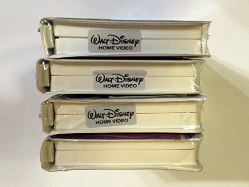 Walt Disney's Lot of 4 Vhs: The Hunchback of Notre Dame, Snow White & the Seven Swarfs, Bambi (Masterpieces) & Aladdin and the King of Thieves (Classic) [VHS]