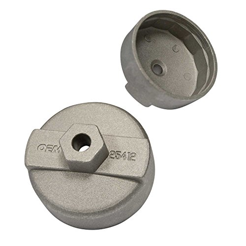 OEMTOOLS 25412  7/8 Inch Oil Filter Cap Style Wrench (Multi Oil Wrench)