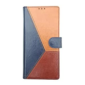 FOOLPROOF Mobile Flip Cover, Compatible Device Infinix Hot 10S with Foldable Stand & Cards Slots (Blue, Brown, Black…