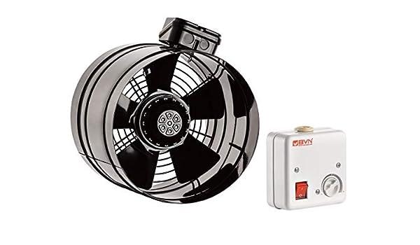 Axial Ventilador de Conducto Turbo aire de salida Ventilador ...