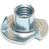 Hard-to-Find Fastener 014973322700 Pronged Tee Nuts, 3/8-16, Piece-100