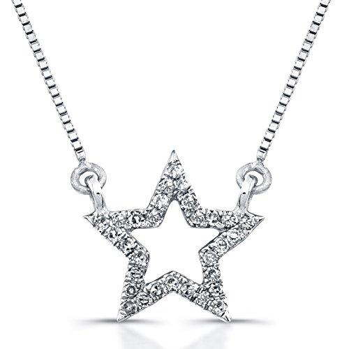 Diamond Star Necklace - 9