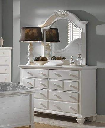 Broyhill Mirren Harbor Drawer Dresser, White