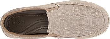Crocs Women's Citilane Low Slipon W Sneaker, Khaki, 10 M Us 1