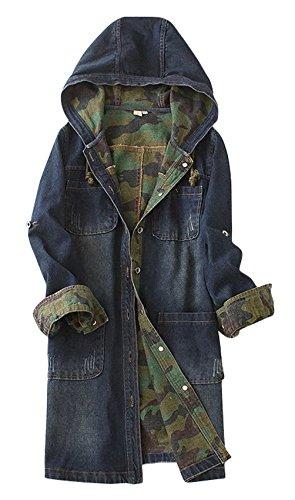 Juniors Long Twill Jacket - 7