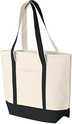 HYP - Beach Tote - HY801 - One Size - Black ()