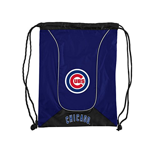 Officially Licensed MLB Chicago Cubs Doubleheader Backsack, 18-Inch, Royal