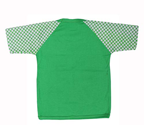 Green Tee Baby Boys Cotton Top and Bottom Sets – Pack of 5 (12-18Months)(Multi-Color)