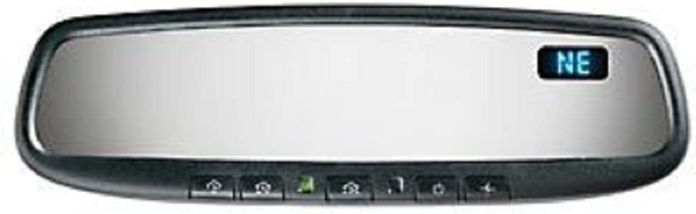 Gentex 45ADMCHG Auto-Dimming Rear View Mirror System with Compass and HomeLink