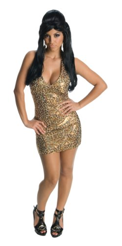 Snooki Costumes (Jersey Shore Leopard Snooki Dress, Leopard, Small Costume)