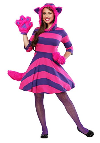 Cheshire Cat Women's Costume Medium Pink]()