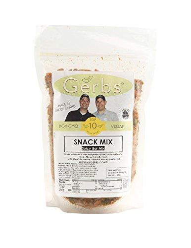 Spicy Bar Mix, 2 LBS by Gerbs - Top 12 Food Allergy Free & NON GMO (Everything Bagel Slices, Seasoned Pumpkin & Sunflower Seeds) (Pumpkin Pretzels)