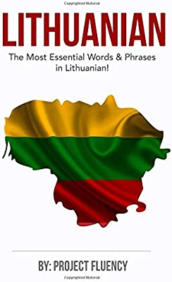 The Lithuanian Phrasebook NEW BOOK