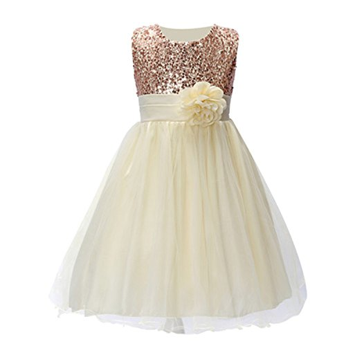 Huaqiang fashion Summer Christmas cute flower Girls Dress sequined mesh Girl Clothing Sleeveless Princess Dresses Girl Costume Kids girls as picture 6