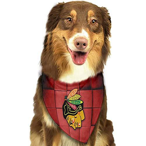 Dog Bandana, Puppy Doggie Scarf Kerchief,Size:side-18