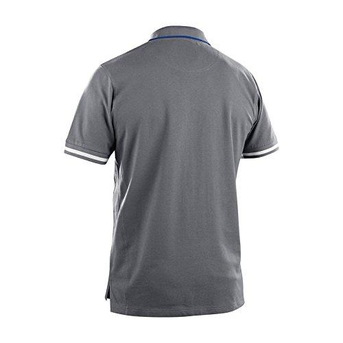 Blaklader 338910509485S Polo Shirt, Size S, Grey/Cornflower Blue by Blaklader (Image #2)