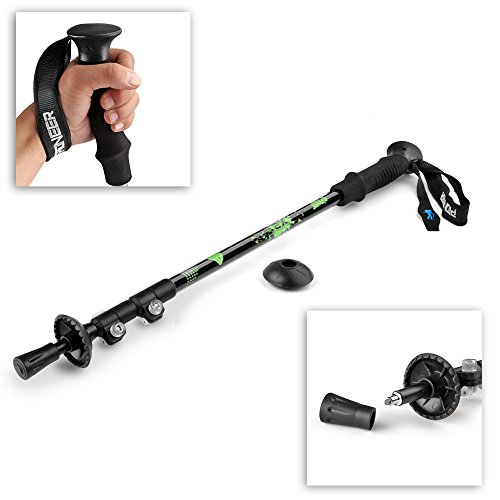Flexzion Trekking Pole Stick Alpenstock