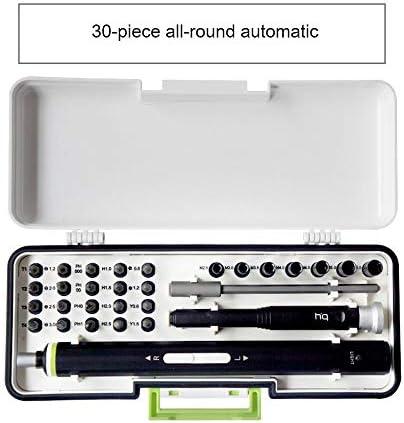 精密電動ドライバーセット、携帯用ミニポータブル多機能分解修理キット、ラップトップ、タブレット、メガネ、時計,30pieces