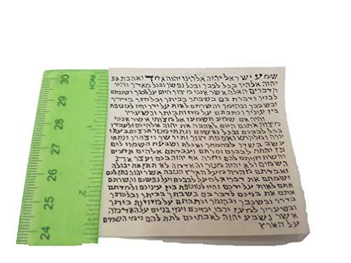 (Yaliland Kosher Mezuzah Mezuza Scroll Parchment Klaff Klaf - 2.75