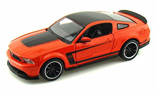 Maisto Ford Mustang Boss 302, Orange 31269 - 1/24 Scale Diecast Model Toy Car -  31269OR