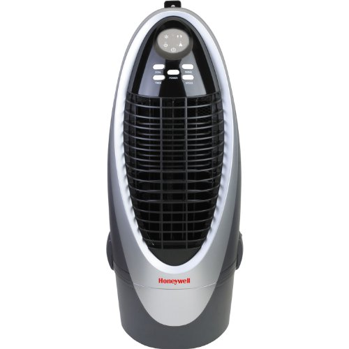 Honeywell Indoor Portable Evaporative Cooler with Fan & Humidifier with Detachable Tank, Carbon Dust Filter & Remote Control, - Natural Honeywell