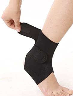 f506af36bd Tourmaline self heating Magnetic Ankle wrap for pain relief, injury, sprain,
