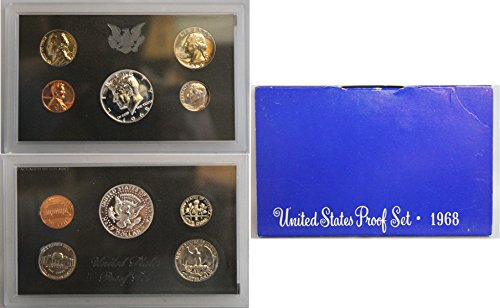 1968 S US Proof Set Original Government Packaging ()