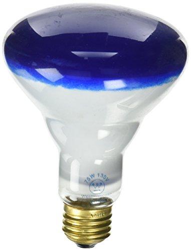 Westinghouse 0466800, 75 Watt, 130 Volt Blue Incandescent BR30 Light Bulb - 2000 Hours (Incandescent Metal)