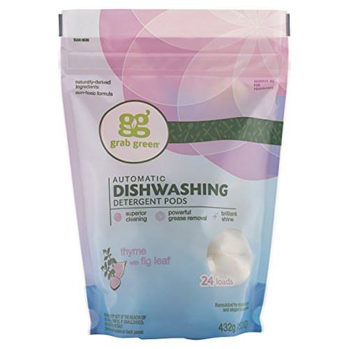 Grab Green Automatic Dishwashing Detergent, Thyme with Fig Leaf, 432g (15.2)  24 - And Fig Seventh