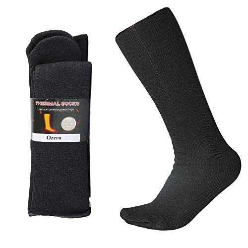 Winter Socks, Knee High Warm Boot Socks - Highly Elastic and Insulated for Women and Men