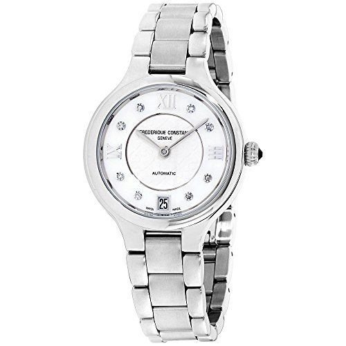 Frederique Constant Silver Dial Stainless Steel Ladies Watch FC306WHD3ER6BXG (Certified Refurbished)